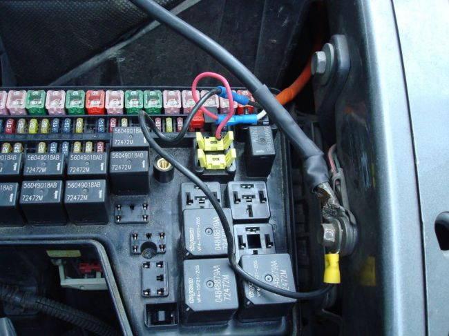 Установка планшета в автомобиль
